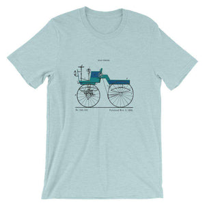 Road engine patent t-shirt - Sigma Shirts