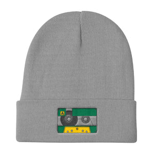 Cassette tape knit beanie - Sigma Shirts