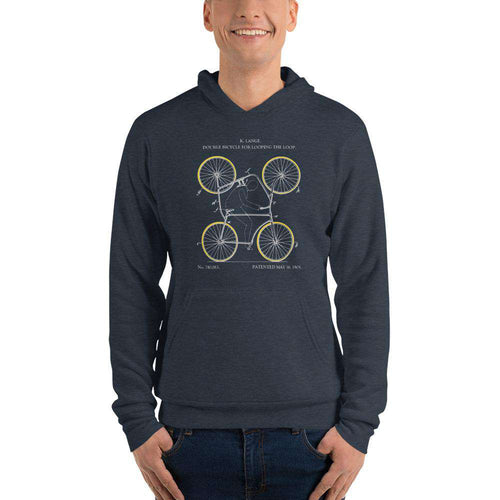 4-wheel bicycle patent hoodie - Sigma Shirts