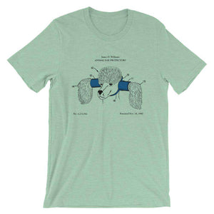 Animal ear protector patent t-shirt - Sigma Shirts