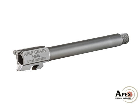 "Apex Grade Threaded Semi Drop-In M&P Barrel - 5"" - Canadian Tactical Cowboy Supplies - CTCSupplies.ca"