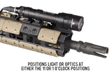 Magpul M-LOK Offset Light Mount, Polymer - Canadian Tactical Cowboy Supplies, Ltd. - 3