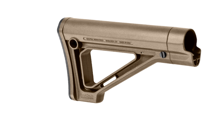 Magpul MOE Fixed Carbine Stock – Mil-Spec - Canadian Tactical Cowboy Supplies, Ltd. - 2