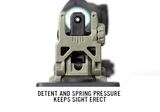 Magpul MBUS Back-Up Sight - Rear GEN 2 - Canadian Tactical Cowboy Supplies, Ltd. - 7