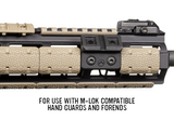 Magpul M-LOK Offset Light Mount, Polymer - Canadian Tactical Cowboy Supplies, Ltd. - 2