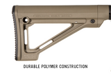 Magpul MOE Fixed Carbine Stock – Mil-Spec - Canadian Tactical Cowboy Supplies, Ltd. - 5