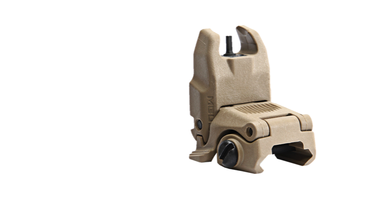Magpul MBUS Back-Up Sight - Front GEN 2 - Canadian Tactical Cowboy Supplies, Ltd. - 2
