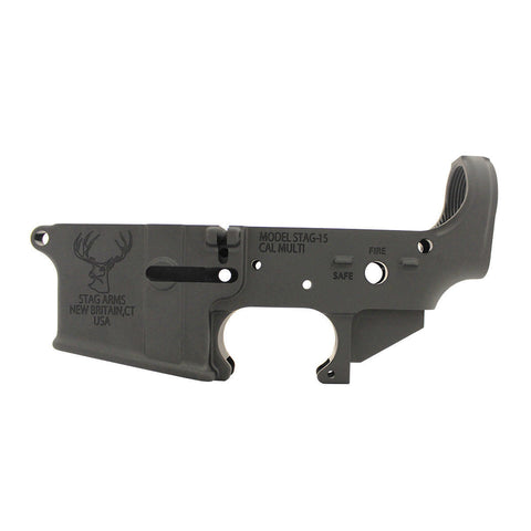 Stag Arms Stripped AR15 Lower Receiver - Canadian Tactical Cowboy Supplies - CTCSupplies.ca