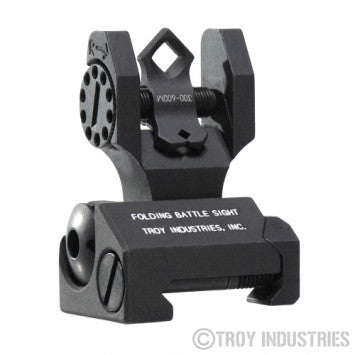 Troy BattleSight Rear Tritium Di-Optic Aperture (DOA) - Canadian Tactical Cowboy Supplies, Ltd. - 1