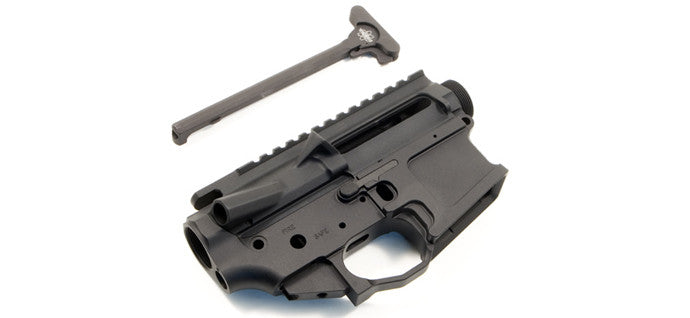Mega Arms Billet AR15 Upper + Ambi Lower Combo with Charging Handle - Canadian Tactical Cowboy Supplies, Ltd. - 1