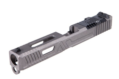 Agency Arms Urban Combat Slide (Glock 17 Gen 3) - Agency Gray - Canadian Tactical Cowboy Supplies - CTCSupplies.ca