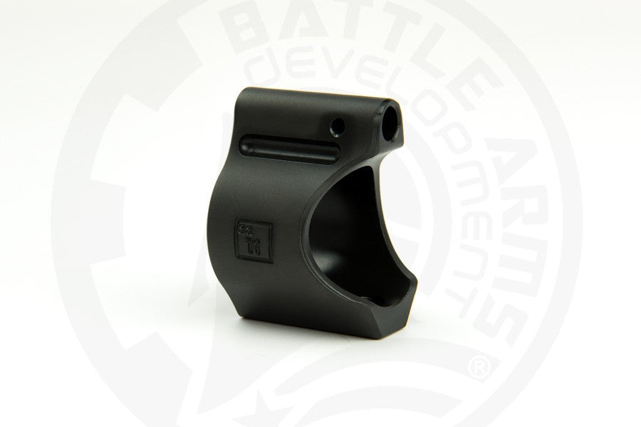 "Battle Arms Lightweight Low Profile Titanium Gas Block - .750"" Dia - Black Ionbond PVD - Canadian Tactical Cowboy Supplies - CTCSupplies.ca"