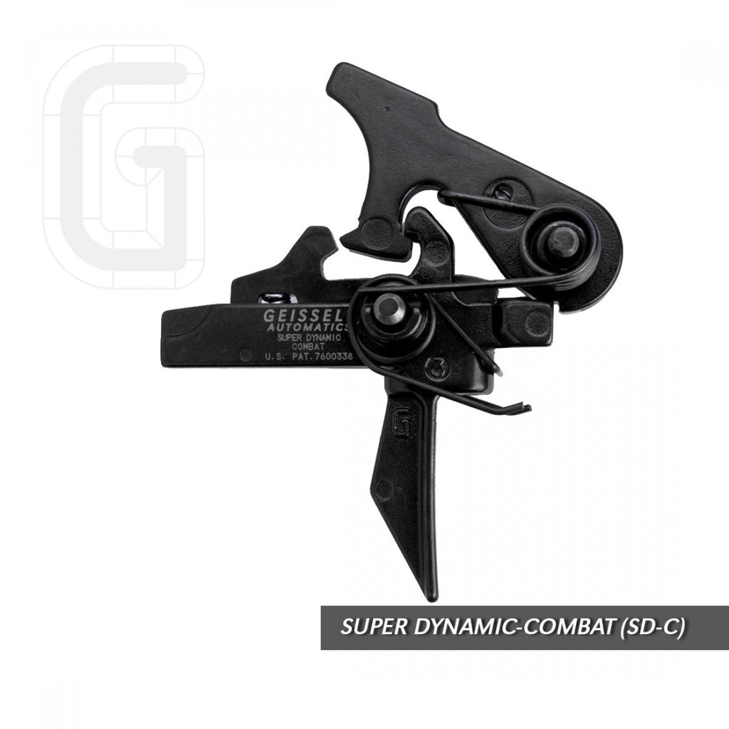 Geissele Super Dynamic Combat (SD-C) Trigger - Canadian Tactical Cowboy Supplies, Ltd.
