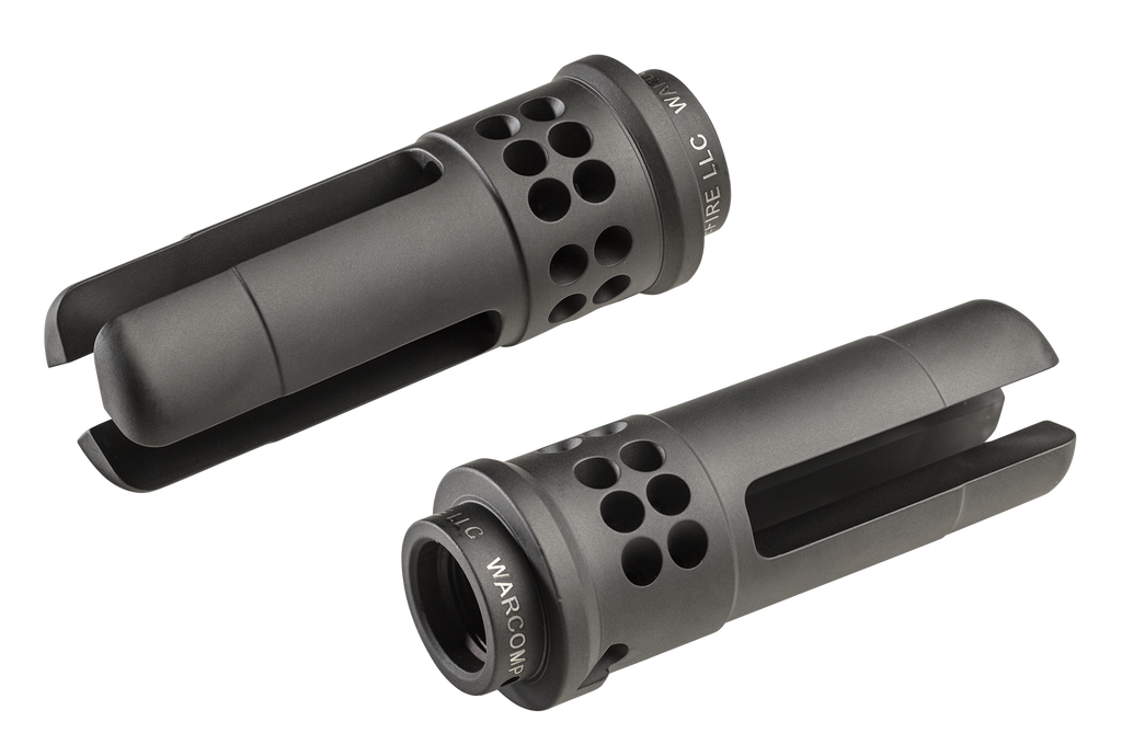SureFire WARCOMP 5.56 3-Prong Flash Hider and SOCOM Suppressor Adapter (5.56-1/2-28 TPI) - Canadian Tactical Cowboy Supplies, Ltd.