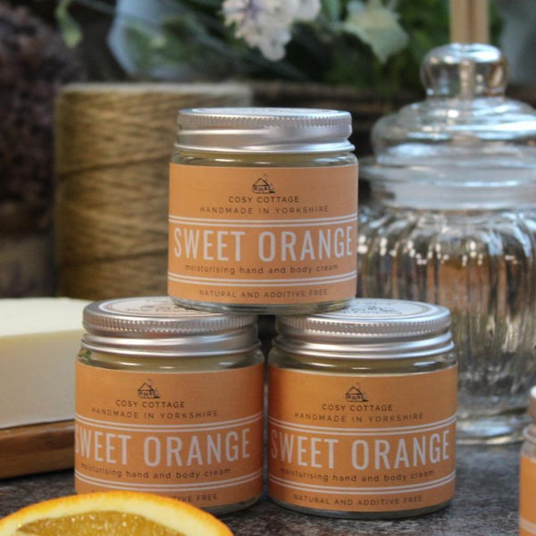 Energising Sweet Orange Body Butter, 30ml
