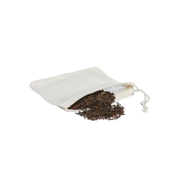 Reusable Organic Cotton Tea Bags, pack of 5