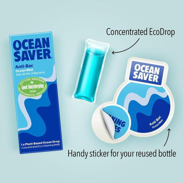 Anti Bacterial Cleaning Eco Drop, Ocean Mist