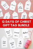 12 Day of Christ Bundle- 33 Names + Companion Cards