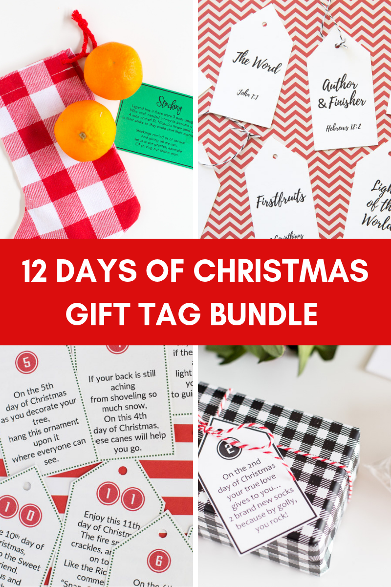 12 Days of Christmas Bargain Bundle ($40 Value-8 Versions)