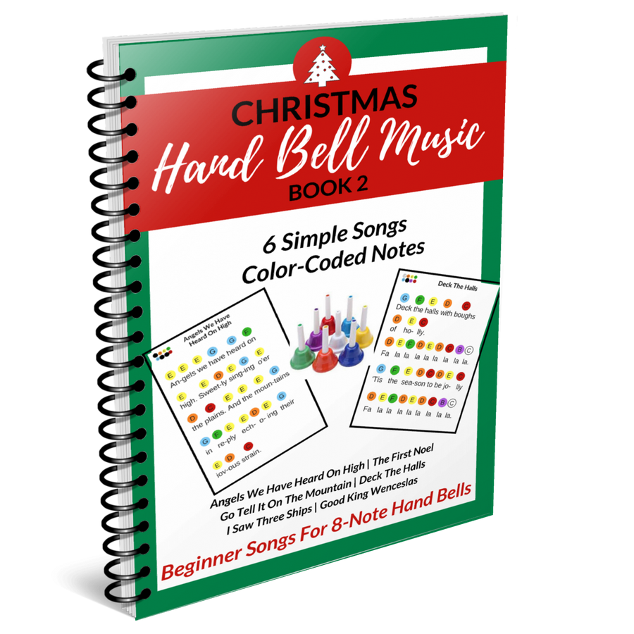 Hand Bell Music- Christmas Book 2- 6 Songs