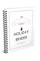 Christmas Binder (50+ Pages!)