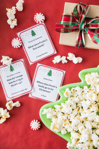 Christmas Movie Trivia Game (72 Cards)
