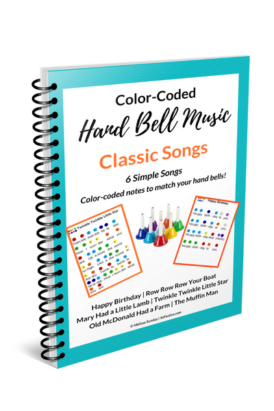 Hand Bell Song Book- Classics (6 Beginner Songs)