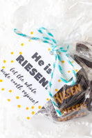 "He is ""Riesen""- Easter Gift Tags"