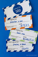 Father's Day 12-Page Kit- Coupon Book, Banner, Cards, & More
