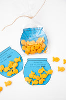 Goldfish Valentines Digital Download