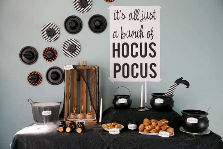 Hocus Pocus Halloween Party Kit- 10 Pages
