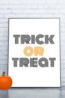 Modern Printable Halloween Art- 7 Options