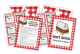 Pioneer Day Celebration Kit- Banner, Treasure Hunt Clues & Party Sign