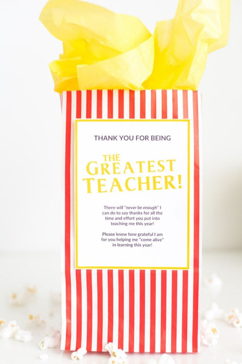 The Greatest Teacher - Appreciation Gift