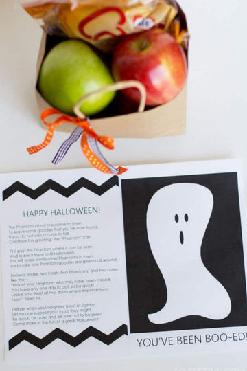 You've Been Boo'ed- Halloween Printables
