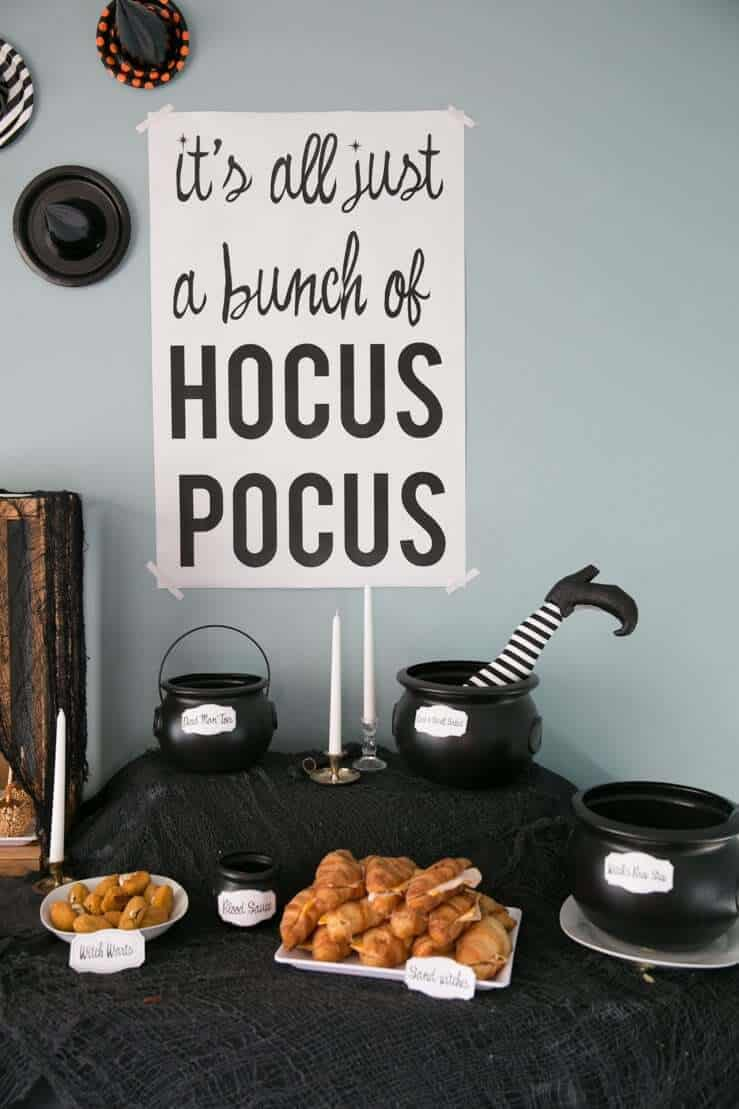 Hocus Pocus Halloween Party Kit