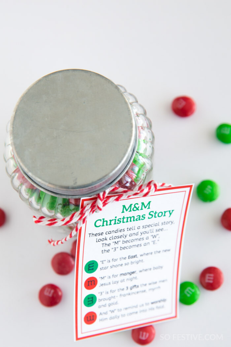 M&Ms Christmas Poem (2 Sizes)+ Bonus Easter Version