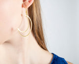 The Moon Tide Earrings