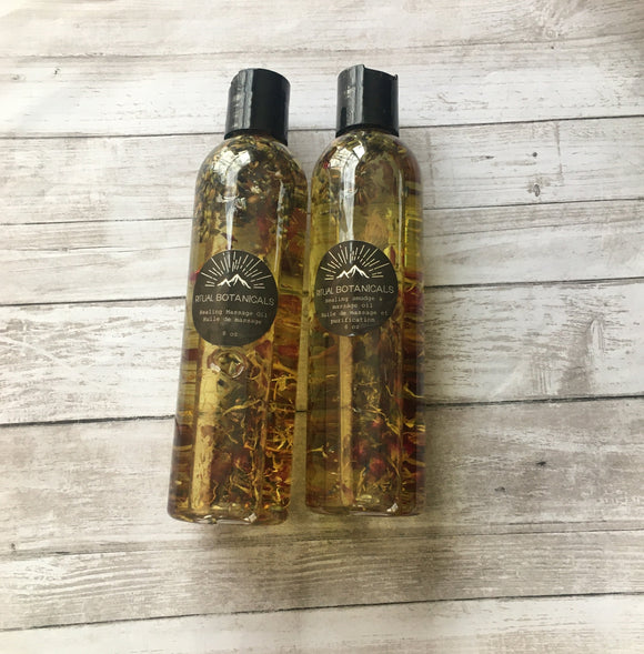 Ritual Botanicals Massage Oil