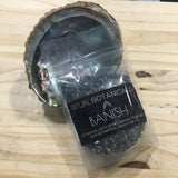 The BANISH bath salt soak pouch