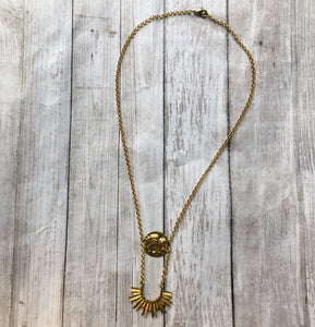 The Brass Opus Necklace