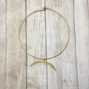 The Horn Brass Choker