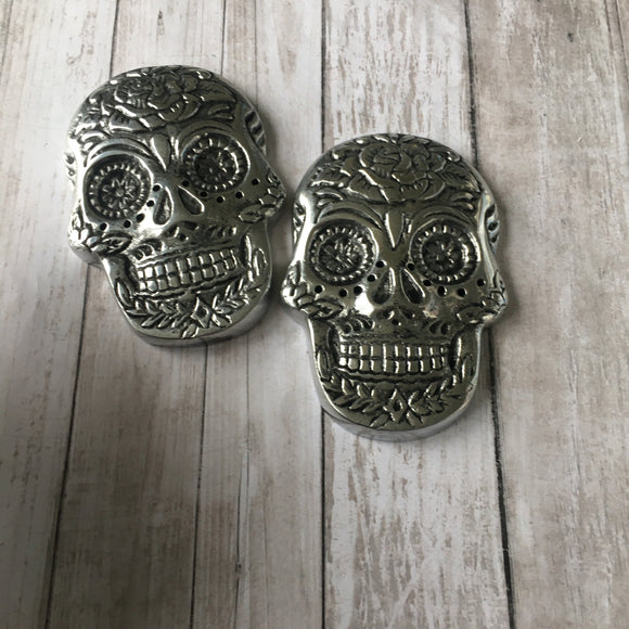 The Day of the Dead Skull Incense Holder