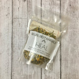 The HEAL bath tea pouch