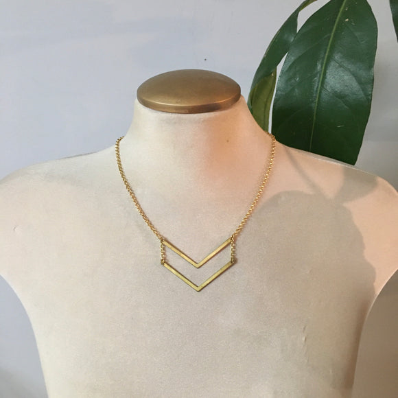 The Chevron Necklace