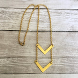 The Chevron Necklace 2.0