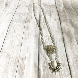 The Silver Opus Necklace