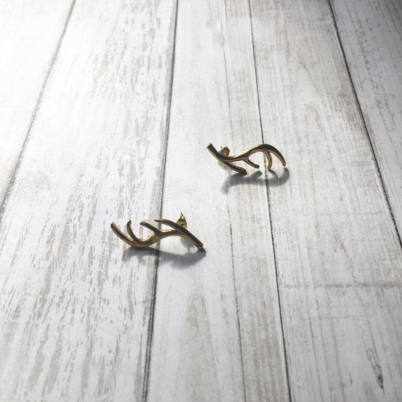 The Antler Earrings