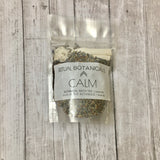 The CALM bath tea pouch
