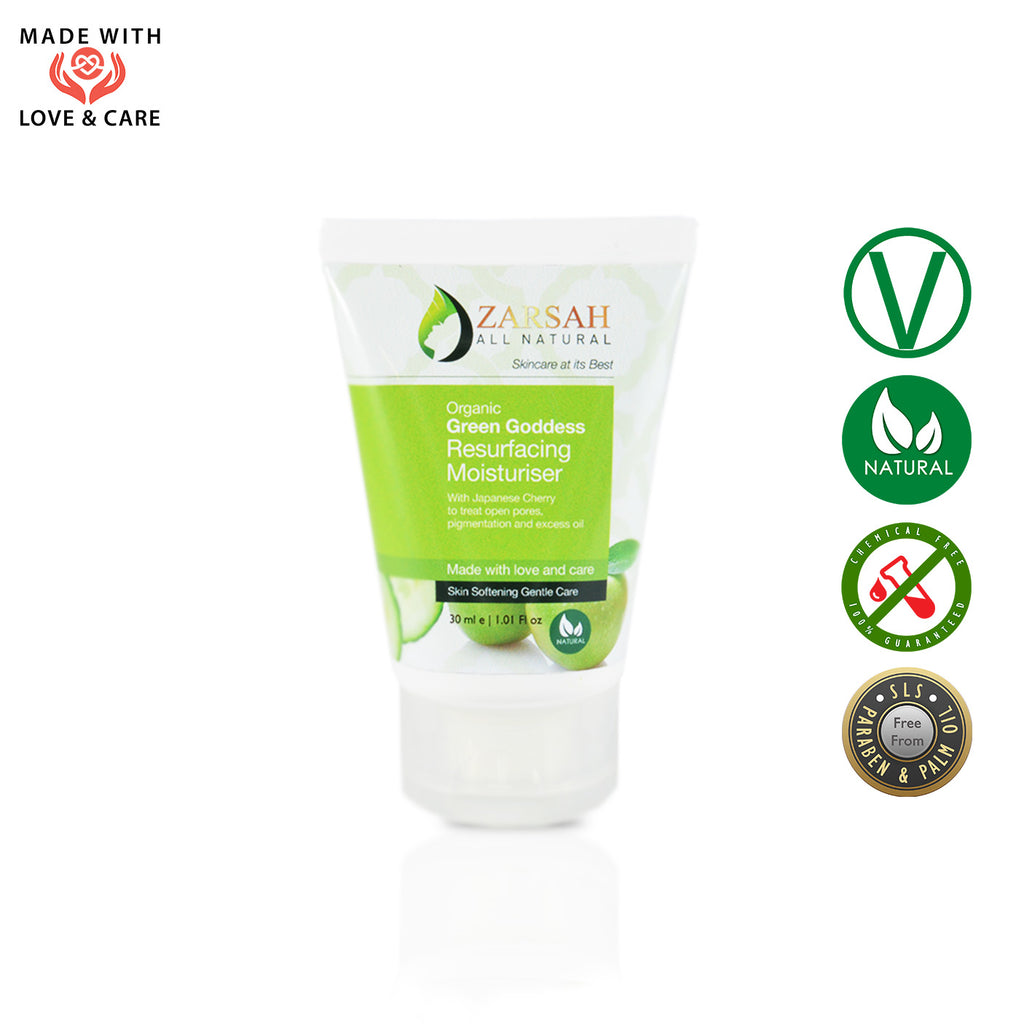 Green Goddess Resurfacing Moisturiser (All Skin Types)